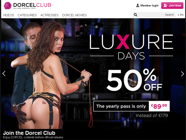 Dorcelclub.com With Bank Pay