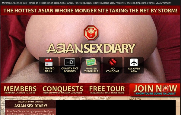 Free Asiansexdiary.com Sign Up