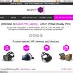 Czech VR Casting Get A Password