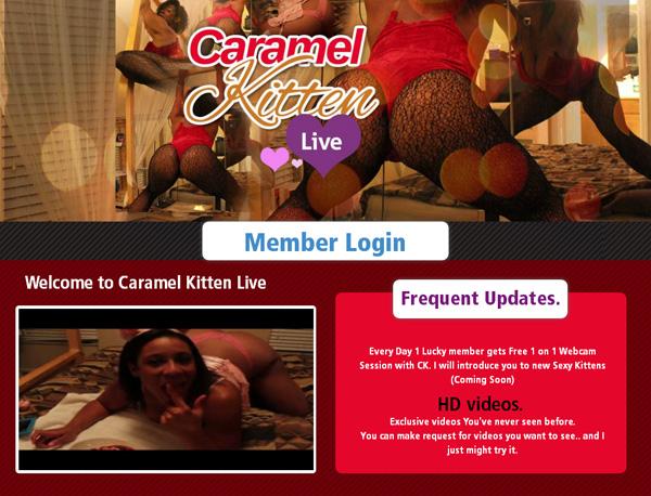 Caramelkittenlive Account Membership