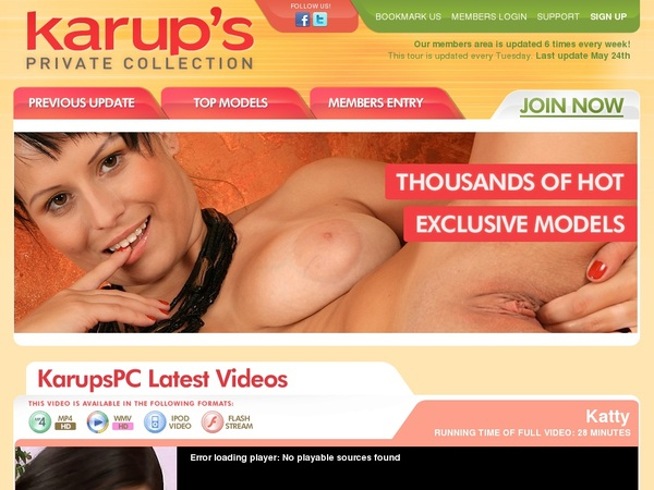 Free Karups Private Collection Discount Deal