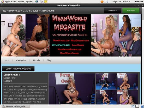 Mean World MegaSite Get Membership