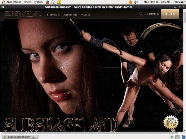 Subspaceland.com Dvd